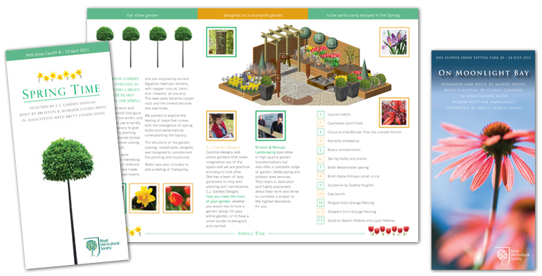 Royal Horticultural Society Show Garden Leaflets