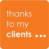 Thanks to my clients